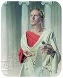 希腊语哲学家 库存照片