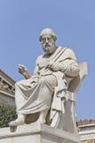 希腊语哲学家platon 免版税图库摄影