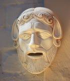 希腊语屏蔽 库存图片