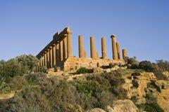 希腊语废墟 库存图片