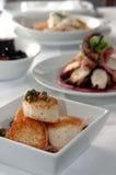 希腊语的开胃菜 免版税库存照片
