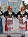希腊语的舞蹈演员 免版税库存照片