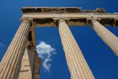 希腊语耐克寺庙 免版税图库摄影