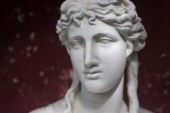 希腊语雕象 库存照片