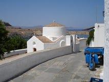 希腊语 库存照片
