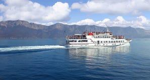 希腊轮渡 图库摄影