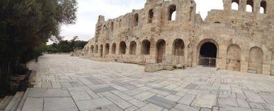 希腊雅典上城 图库摄影