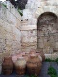 希腊雅典上城 库存图片