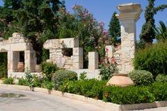 希腊风景视图 免版税库存图片