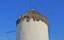 希腊风车 库存图片