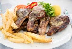 希腊食物 库存图片