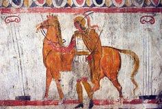 希腊骑士 免版税库存照片