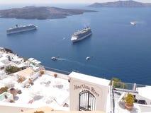 希腊,克利特,圣托里尼 库存图片
