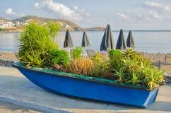 希腊,克利特,巴厘岛 库存照片