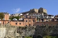 希腊,卡瓦拉 免版税库存照片