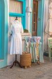 希腊,拔摩岛海岛 库存照片