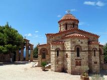希腊,接近Loutraki有许多 免版税库存图片