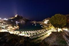 希腊,罗得岛海岛 免版税库存照片