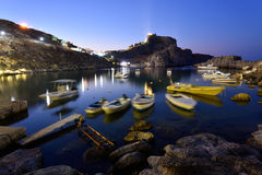 希腊,罗得岛海岛 库存图片
