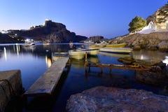 希腊,罗得岛海岛 免版税库存图片