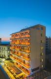 希腊,罗得岛- 7月16 :ÐžÑ 'ÐΜД 2014年7月16日的ÑŒ Rodian画廊在罗得岛,希腊 免版税库存图片