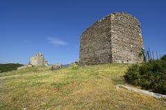 希腊, Eastmacedonia,卡瓦拉 免版税库存照片