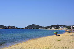 希腊, Eastmacedonia,卡瓦拉 免版税库存图片