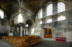 希腊, Feres,中世纪教会 图库摄影