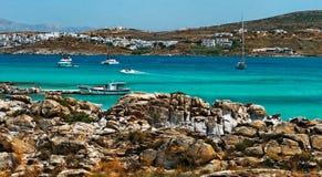 希腊, Paros 库存图片
