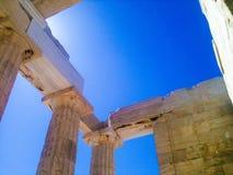 希腊建筑学 库存图片