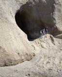 希腊洞穴 库存照片