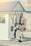 希腊evzone仪仗队2 免版税库存图片