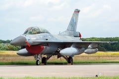 希腊F-16 免版税库存照片