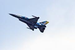 希腊F-16 库存照片