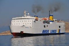 希腊ierapetra l船 库存照片