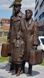 """希腊Immigrant†的""""Sculpture 免版税库存图片"""