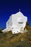 希腊ios海岛 免版税库存图片