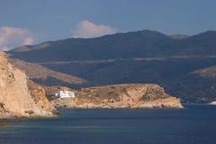 希腊ios 免版税图库摄影