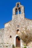 希腊mani传统村庄 库存照片