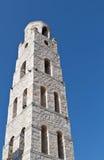 希腊mani传统结构的塔 库存图片