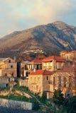 希腊mani半岛村庄 免版税库存照片