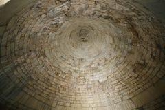 希腊mycenae 铜器时代坟茔圆顶  免版税库存图片