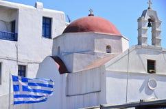 希腊mykonos 免版税库存照片