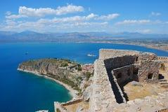 希腊nafplio palamidi 免版税库存照片