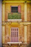 希腊Nafplion,葡萄酒房子 免版税库存图片