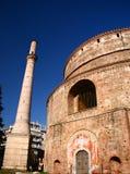 希腊rodonta寺庙 库存图片