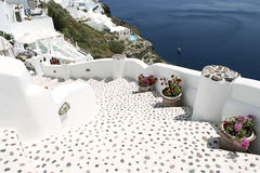 希腊santorini 免版税图库摄影