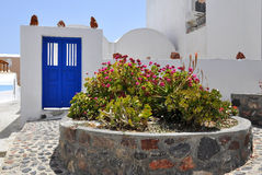 希腊santorini 图库摄影