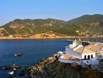 希腊Skopelos 库存图片