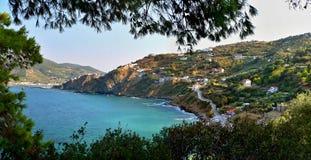 希腊Skopelos 免版税库存图片